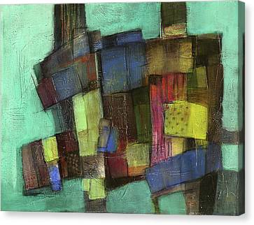 Colorful Canvas Print by Behzad Sohrabi