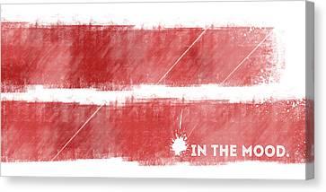 Life Line Canvas Print - Emotional Art In The Mood by Melanie Viola