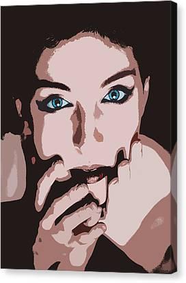Emotive Pop Art Canvas Print
