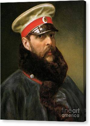 Emperor Alexander II Canvas Print