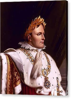 Emperor Napoleon Bonaparte  Canvas Print by War Is Hell Store