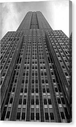 Empire State Building Canvas Print by Mandy Wiltse