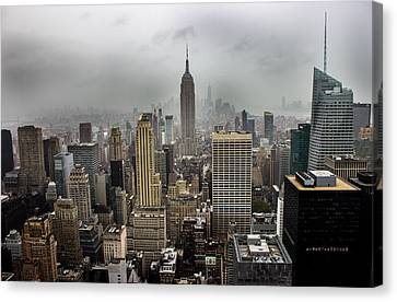 Empire State Building Canvas Print by Martin Newman
