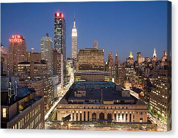 Empire State Building New York City Skyline Canvas Print by Binh Ly