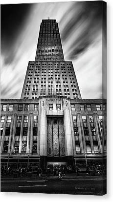 Empire State Canvas Print by Marvin Spates