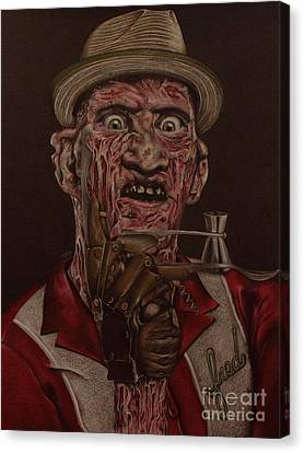 Tiki Canvas Print - Employee Of The Month by Whitney Wilger