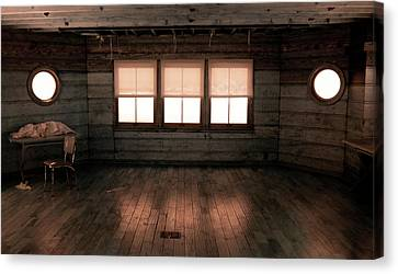Emptiness Canvas Print by Bob LaForce