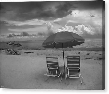 Emptiness Canvas Print by Jeff Breiman