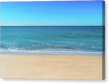 Empty Beach Canvas Print