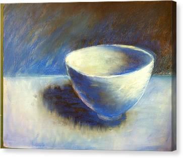 Empty Bowl Canvas Print by Jeff Levitch