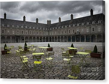 Empty Cafe Canvas Print