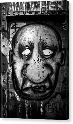 Empty Eyes Canvas Print