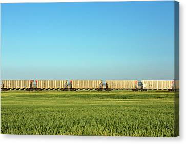 Empty Hoppers Canvas Print by Todd Klassy