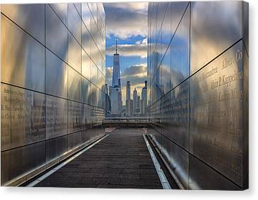 Empty Sky Memorial Canvas Print by Rick Berk