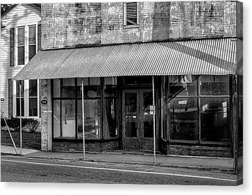 Empty Store Canvas Print by Tim Wilson