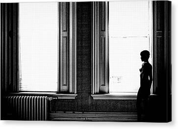 Modern Canvas Print - Empty Windows by Bob Orsillo