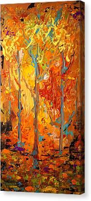 Enchanted Canvas Print by Alan Lakin