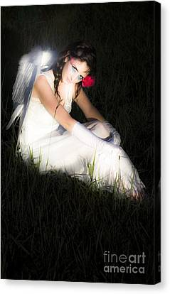 Enchanted Angel Canvas Print