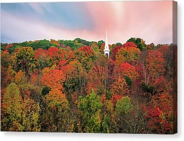 Enchanted Autumn Hillside - Thomasschoeller.photography  Canvas Print by Thomas Schoeller