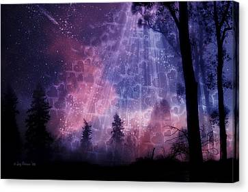 Enchanted By Your Love Canvas Print by Joy Gerow