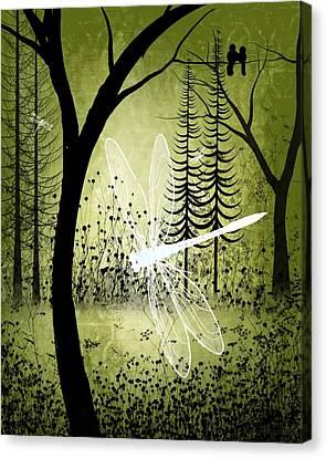 Enchanted Canvas Print by Charlene Zatloukal