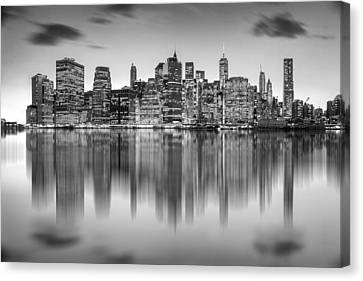 New York City Skyline Canvas Print - Enchanted City by Az Jackson