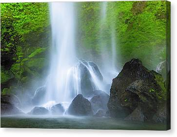 Canvas Print featuring the photograph Enchanted Elowah by Mike Lang