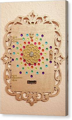 Enchanted Fairy Door Canvas Print by Kerry Ray