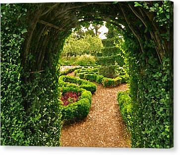 Enchanted Garden Canvas Print