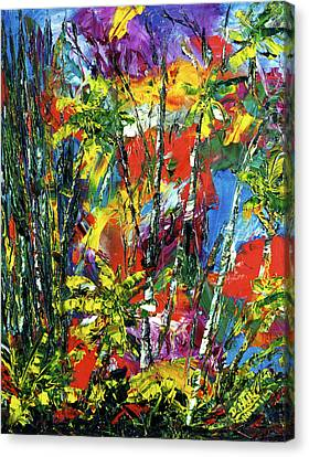 Enchanted Jungle  #167 Canvas Print by Donald k Hall