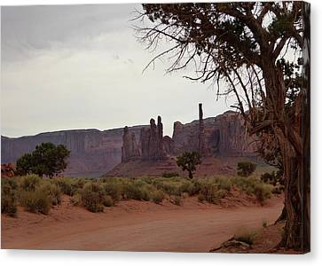 Enchanted Lands Canvas Print by Gordon Beck