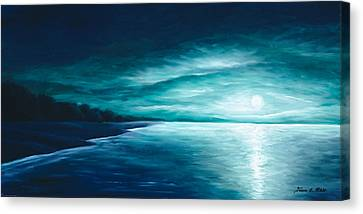 Enchanted Moon I Canvas Print by James Christopher Hill