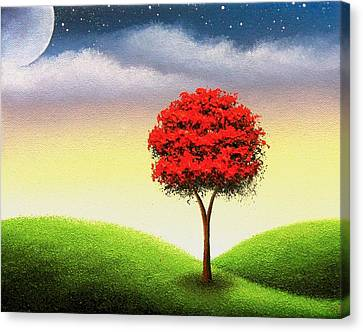 Enchanted Nights Canvas Print by Rachel Bingaman