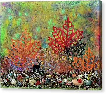 Enchanted Pathways Canvas Print by Donna Blackhall