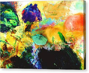 Enchanted Reef #306 Canvas Print by Donald k Hall