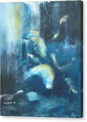 Enchanted Sea Canvas Print by Halle Treanor