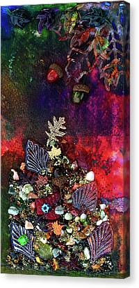 Enchanted Twilight Canvas Print by Donna Blackhall