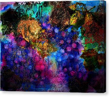 Enchanted Vineyard Canvas Print by Anne Duke