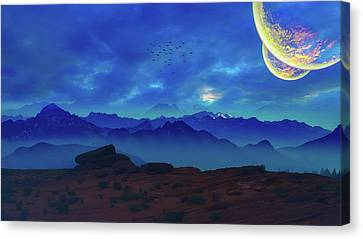 Enchanted Worlds Canvas Print