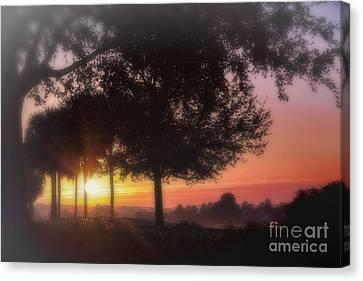Enchanting Morning Sunrise Canvas Print by Mary Lou Chmura