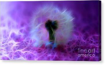 Flora Canvas Print - Enchanting Wishes by Krissy Katsimbras