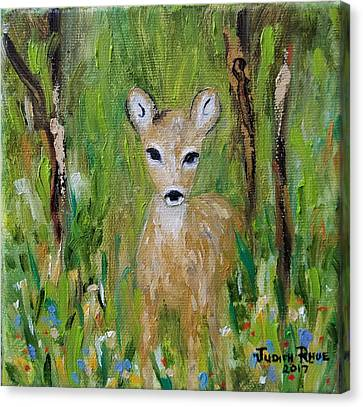 Canvas Print featuring the painting Enchantment by Judith Rhue