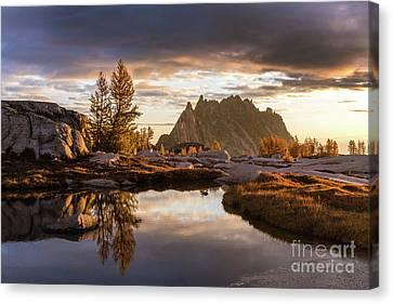 Enchantments Autumn Colors Palette Canvas Print by Mike Reid