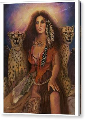 Enchantress Of The Forrest Canvas Print