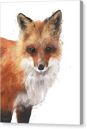 Fauna Canvas Print - Encounter by Amy Hamilton