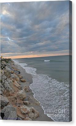 End Of A Beautiful Day Canvas Print