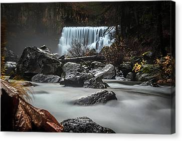 End Of Fall Canvas Print