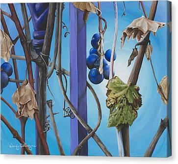 End Of Season Canvas Print by Wendy Ballentyne