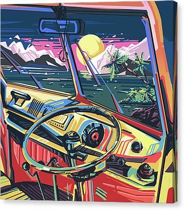 End Of Summer Canvas Print by Bekim Art