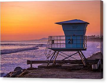 End Of Summer Canvas Print by Peter Tellone